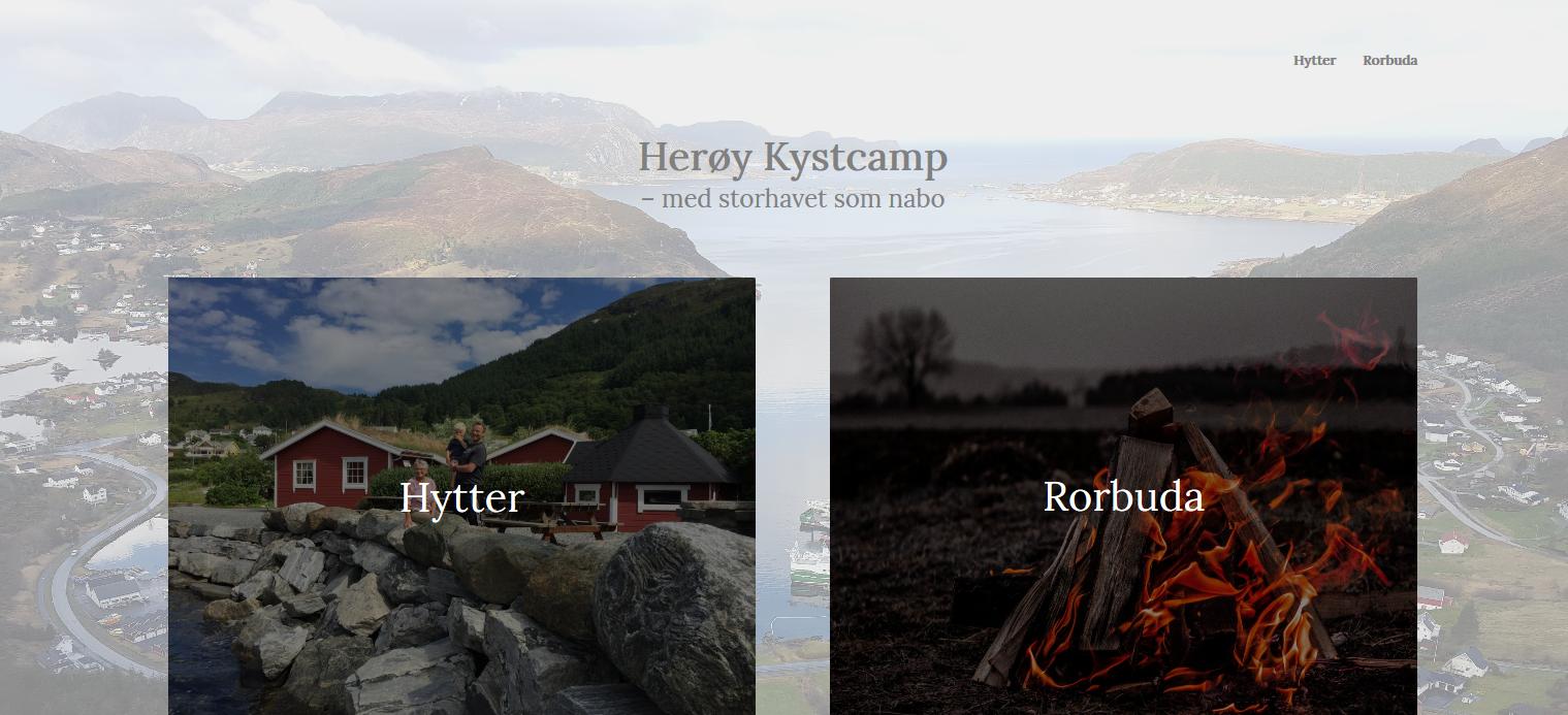 Herøy-Kystcamp-–-Bare-enda-et-WordPress-nettsted